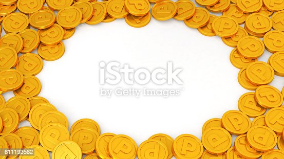 istock loyalty program concept. points coins 611193562