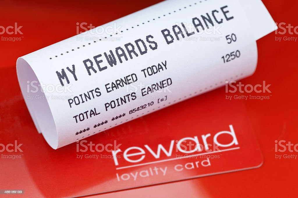 Loyalty Rewards stock photo
