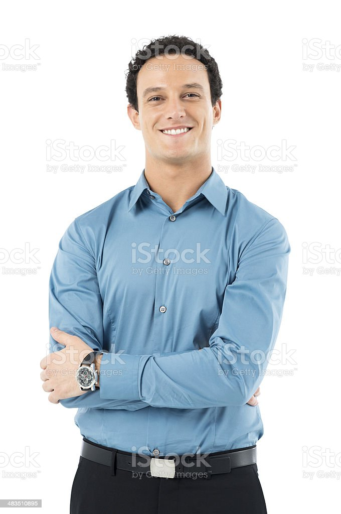 Loyalty Young Businessman royalty-free stock photo