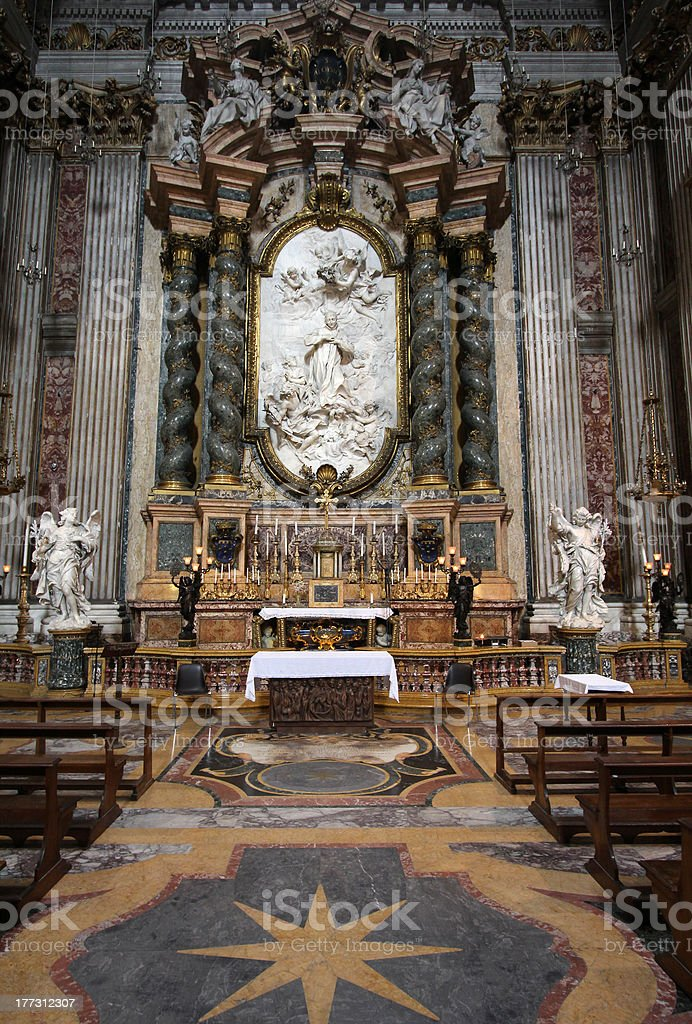 Loyola church, Rome stock photo