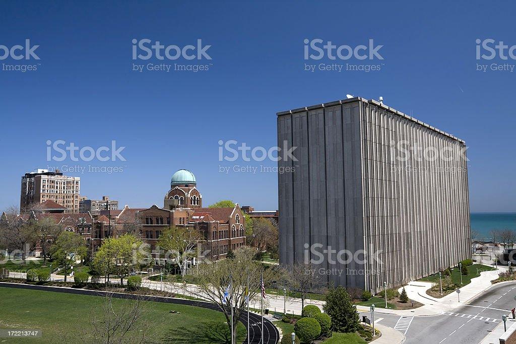 Loyola University Campus royalty-free stock photo