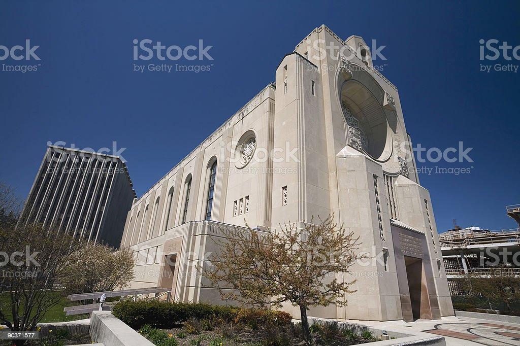 Loyola University Church royalty-free stock photo
