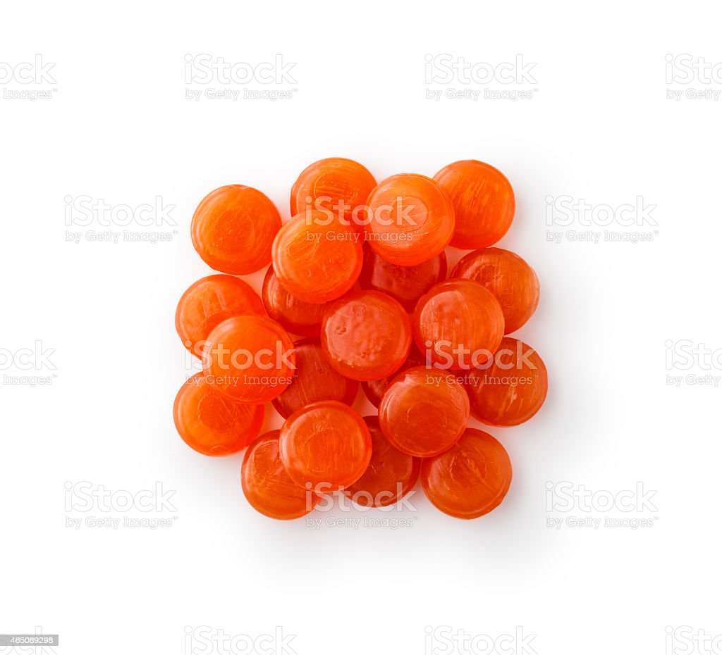 Lozenges cough heap stock photo