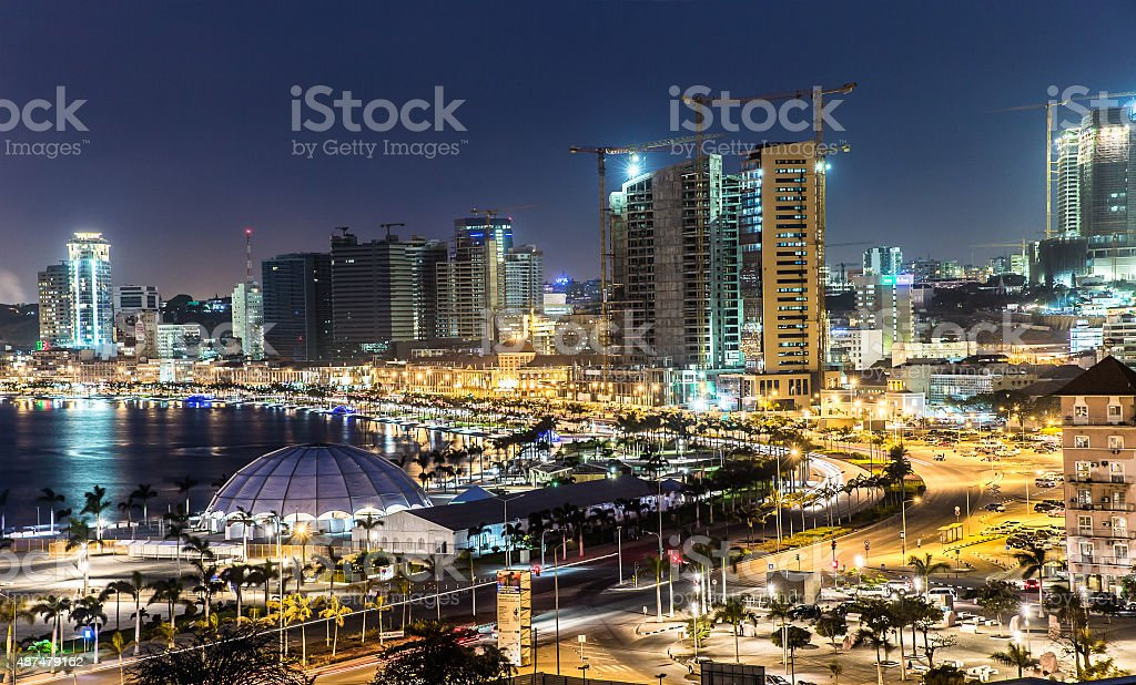 Luanda Bay Area stock photo