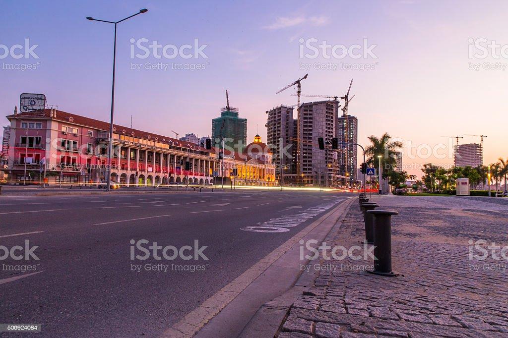 Baía de Luanda - foto de acervo