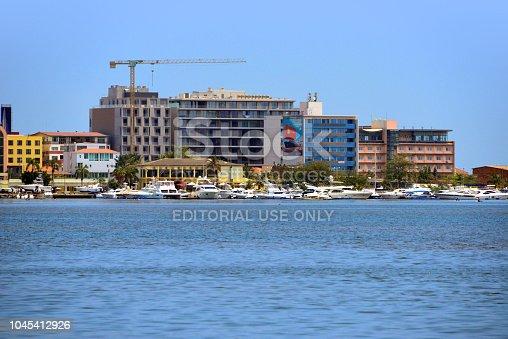 Luanda, Angola: Luanda Island, long island parallel to the coast, linked to the mainland by a causeway - luxury retreat for the elites - recently built condos and marina - Clube Náutico da Ilha de Luanda, Ilha de Luanda