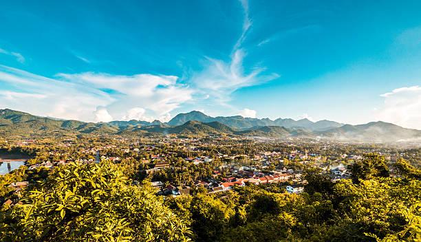 luang prabang, laos - laos stock-fotos und bilder