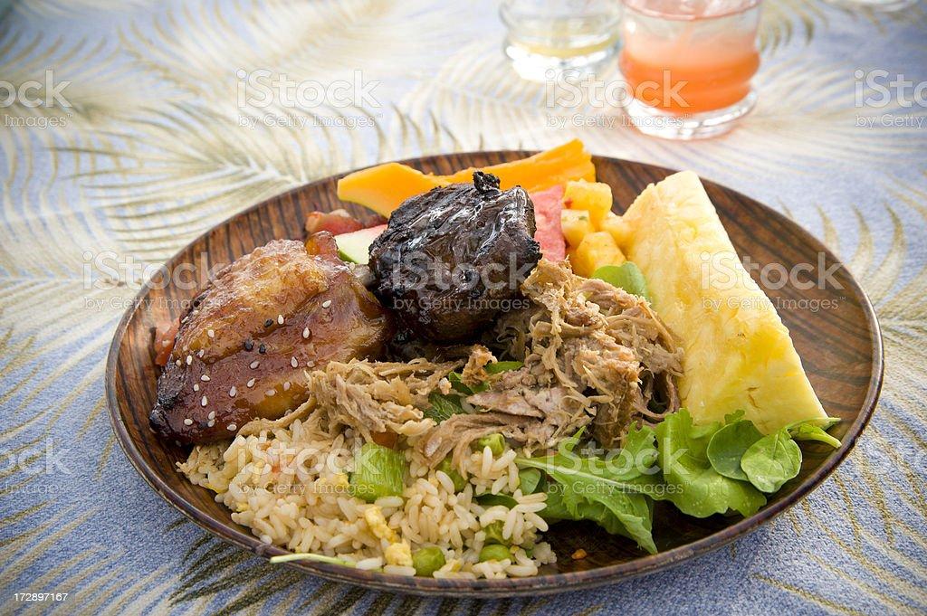 Luau Feast stock photo
