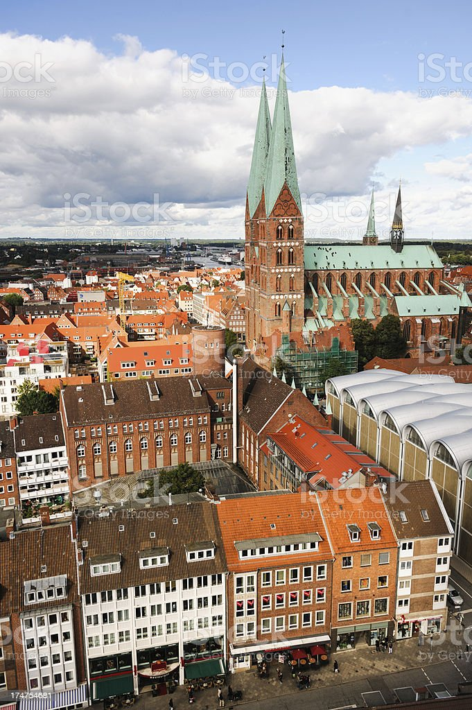 Lubeck, Germany royalty-free stock photo