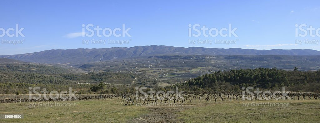 luberon, provence, France royalty-free stock photo