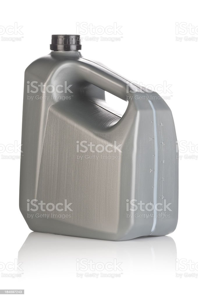 Lubricant Canister royalty-free stock photo