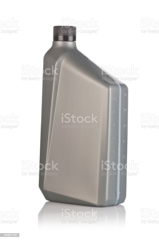 Lubricant Canister stock photo