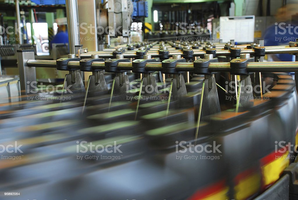 lubricant manufacturing stock photo