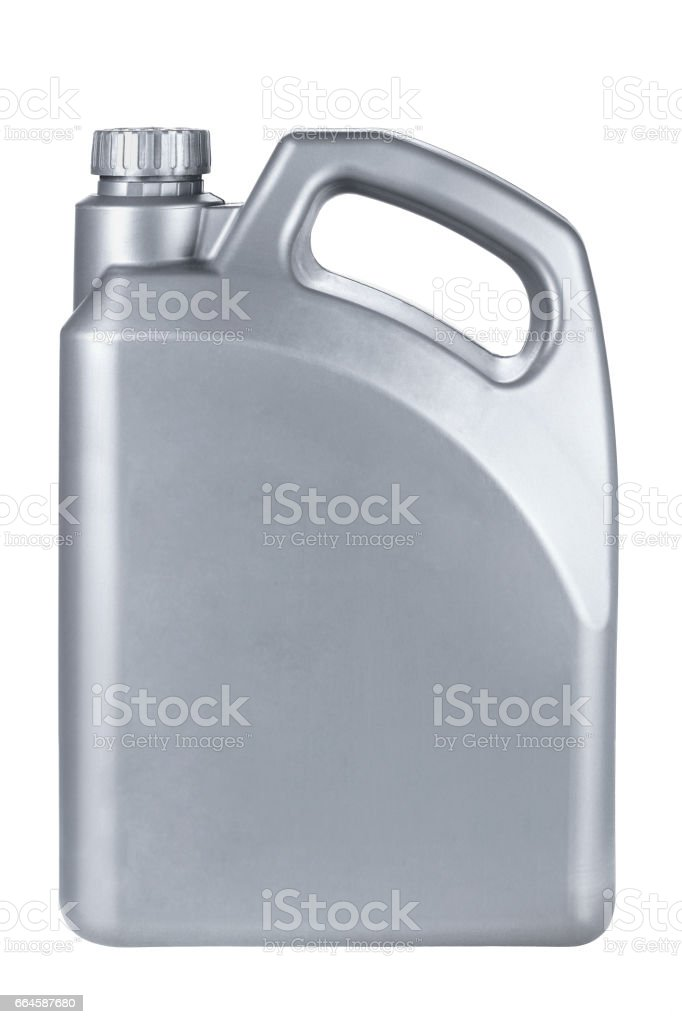 Lubrication Oil Container royalty-free stock photo