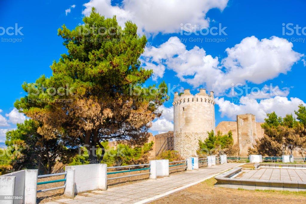 Lucera - Foggia province - Apulia region - Gargano area - southern Italy stock photo