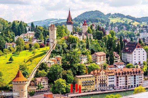 istock Lucerne city in Switzerland 615097692