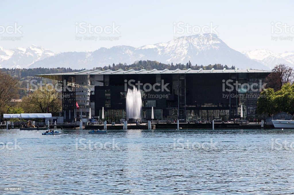 Lucerne KKL stock photo