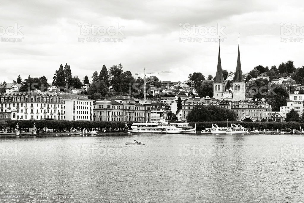 Lucerne royalty-free stock photo