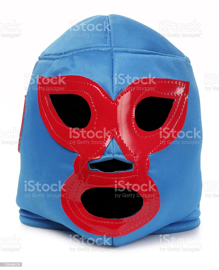 Luchador Mask stock photo