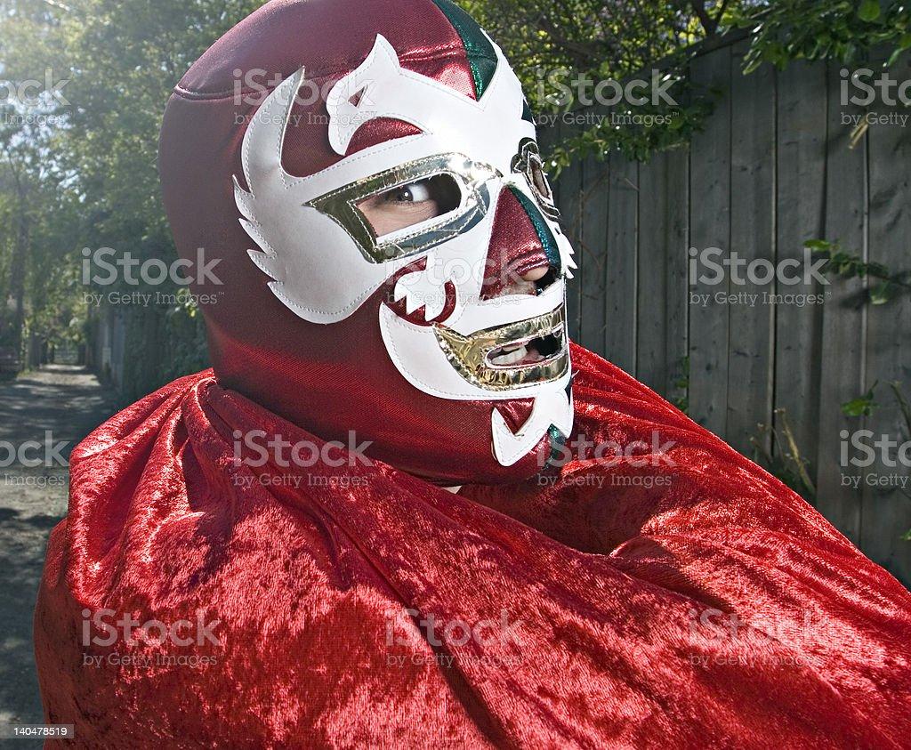 Luchador stock photo