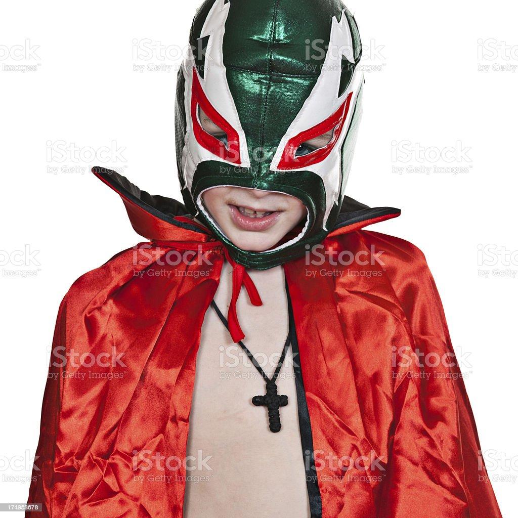 Luchador royalty-free stock photo