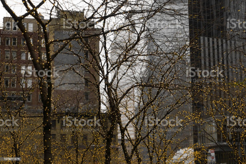 Foto Di Natale New York.Luci Di Natale A New York Stock Photo Download Image Now Istock