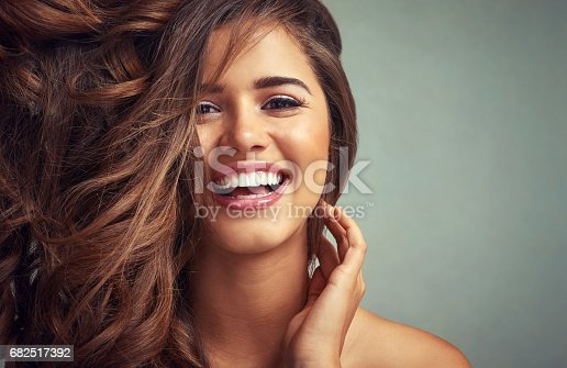 istock Lucious locks and happy laughter 682517392