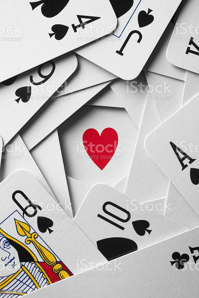 Luck in love stock photo