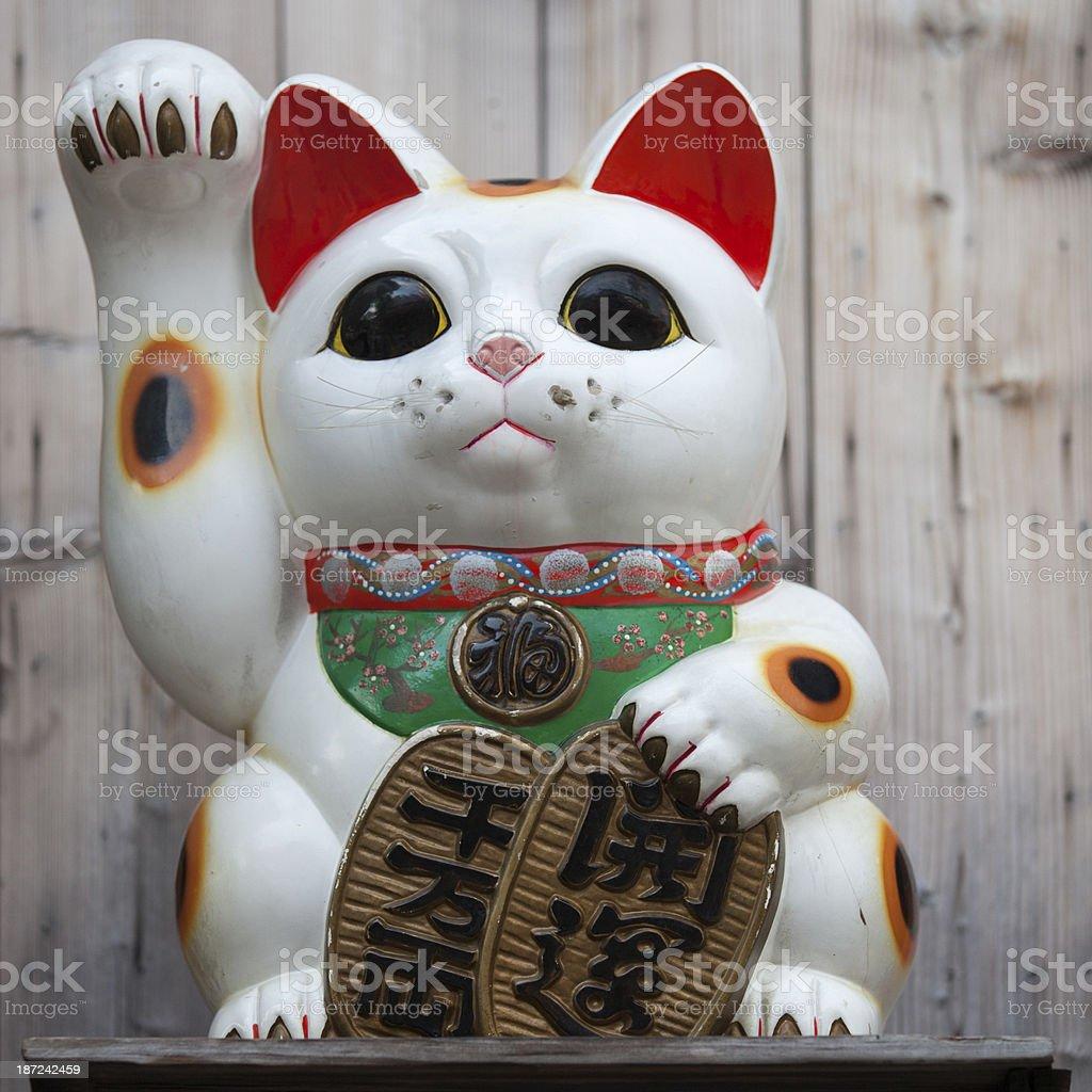 Lucky Cat royalty-free stock photo