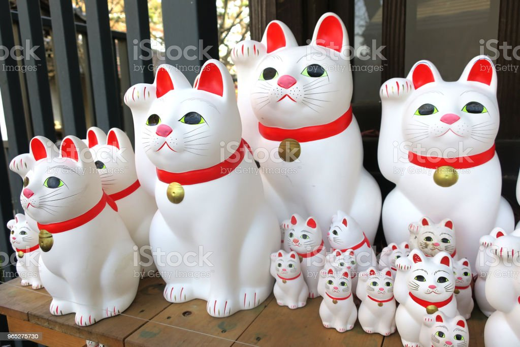 Lucky Cats royalty-free stock photo