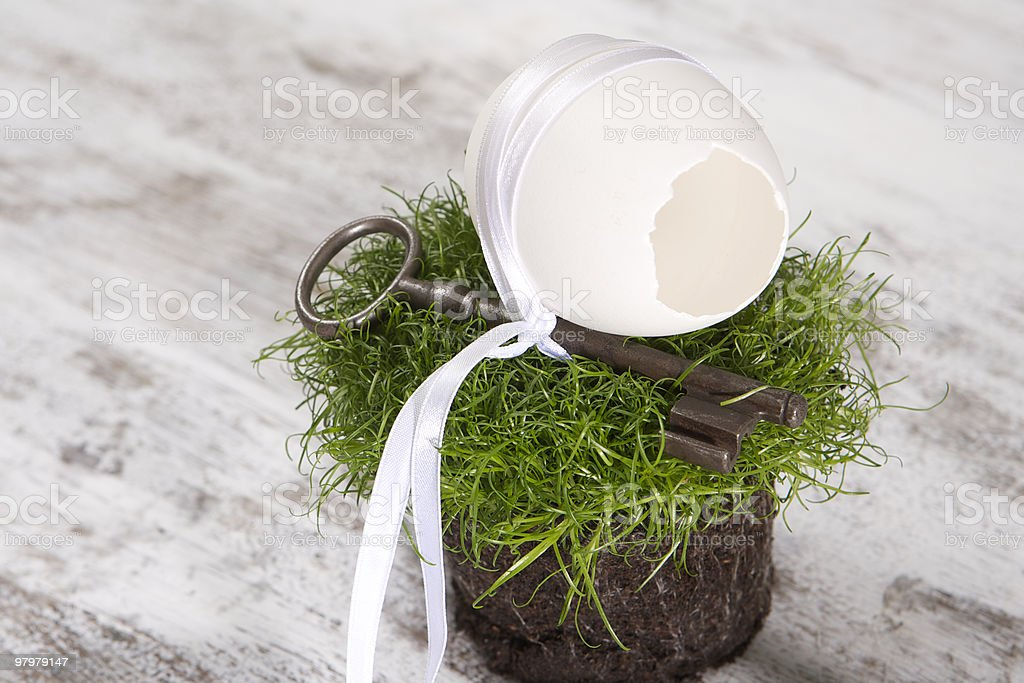 Lucky Easter royalty-free stock photo