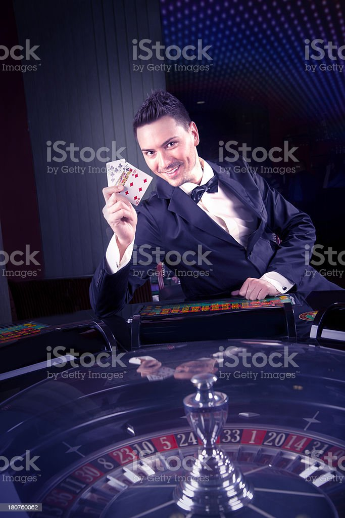 Lucky Gambling royalty-free stock photo