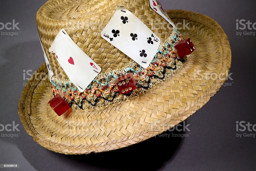 Lucky Hat royalty-free stock photo