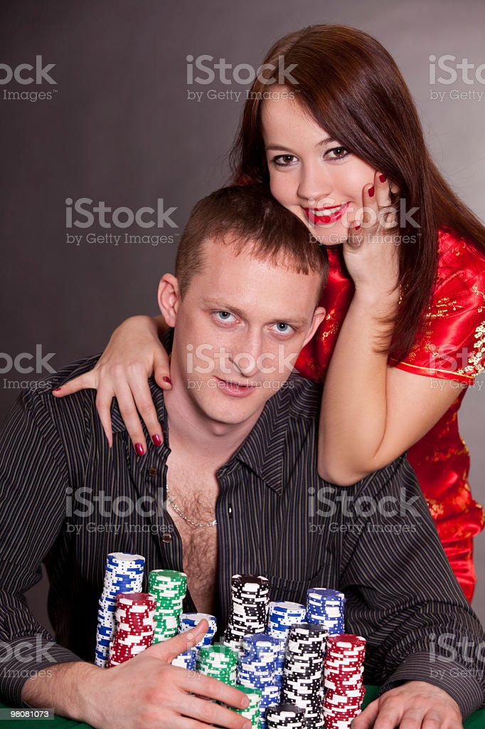 lucky man royalty-free stock photo