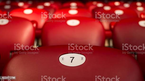 Lucky number seven on empty red chair picture id822477796?b=1&k=6&m=822477796&s=612x612&h=x4wan87dxhtavkrbu2ahki6kmdcglrxoa68lllozgkw=