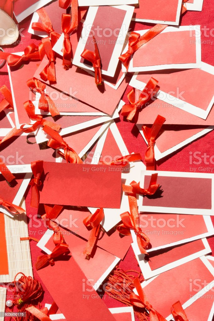 Lucky Red Cards royalty-free stock photo