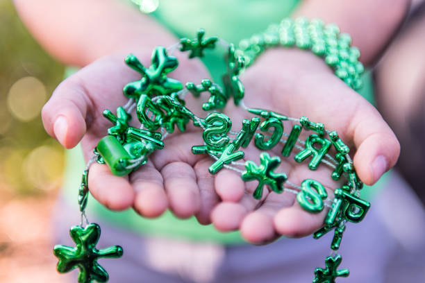 lucky saint patrick - luck of the irish stock photos and pictures