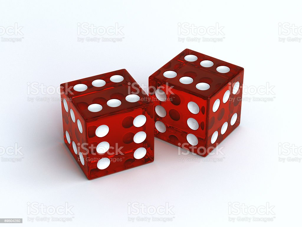Lucky Dice royalty-free stock photo