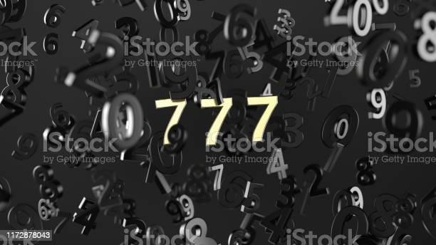 Lucky seven with gold color on number background 3d rendering picture id1172878043?b=1&k=6&m=1172878043&s=612x612&h=dtmiznanzxcampqwa6swlyus5eio8wbh6t8a ohs7k4=