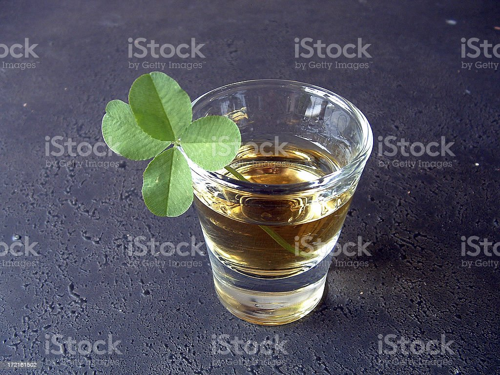Lucky Shot royalty-free stock photo