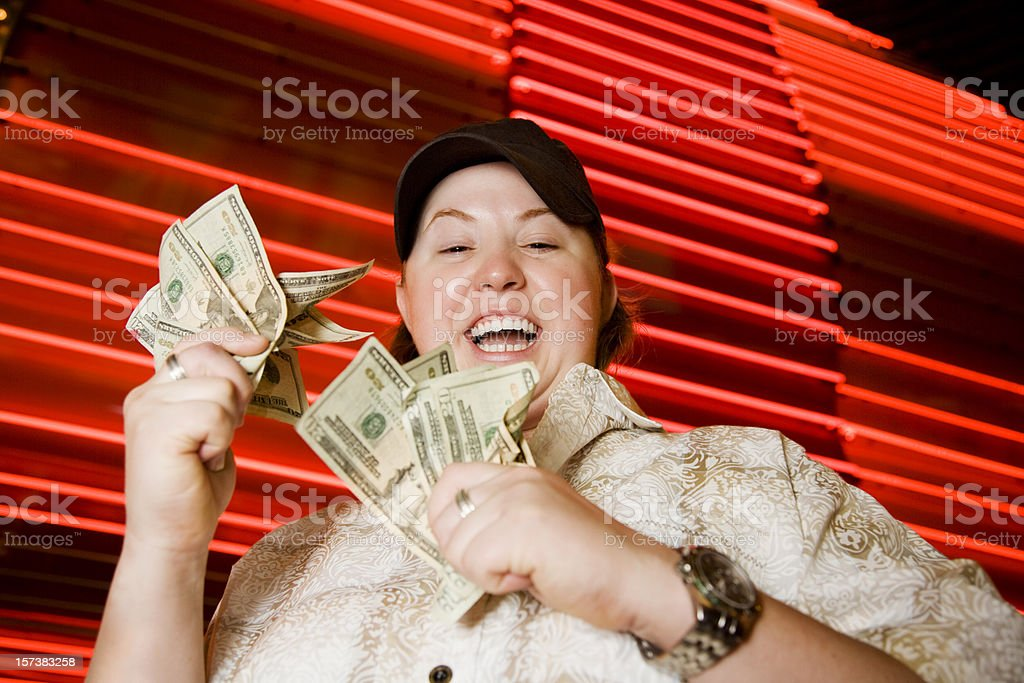 Lucky Winner royalty-free stock photo