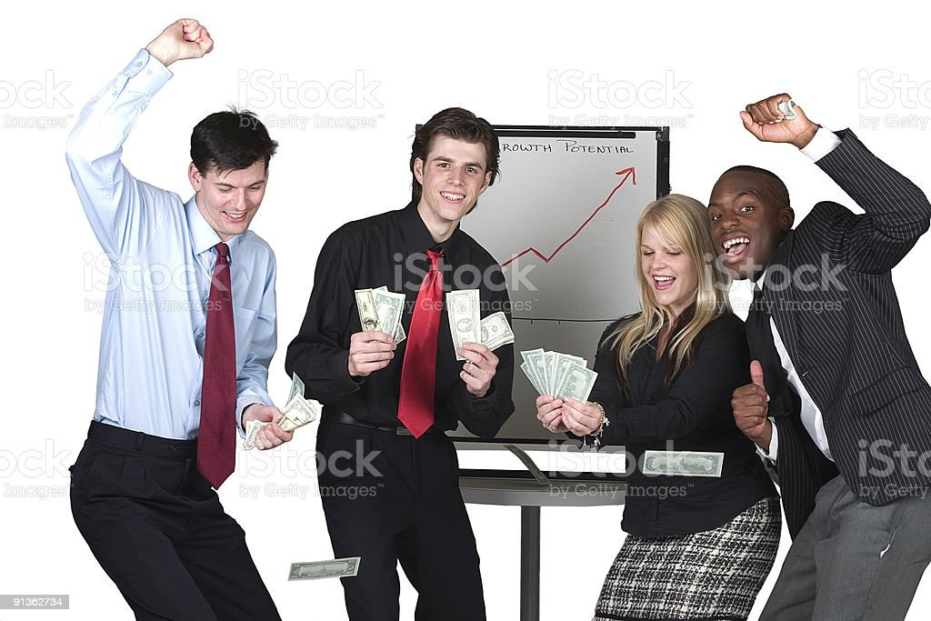 Lucrative Business Venture royalty-free stock photo