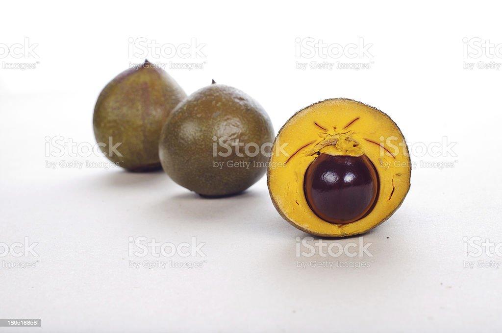 lucuma fruit royalty-free stock photo