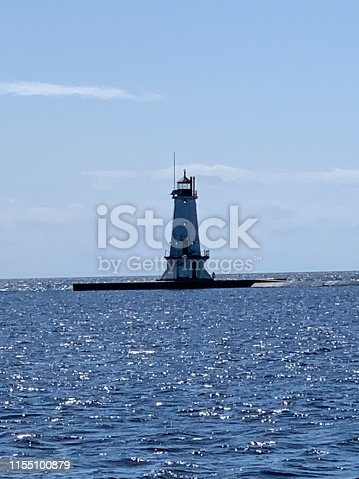 177362898istockphoto Ludington , Michigan Lighthouse 1155100879