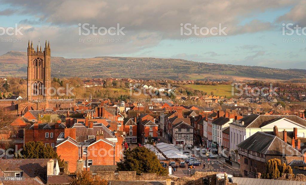 Ludlow, Shropshire stock photo