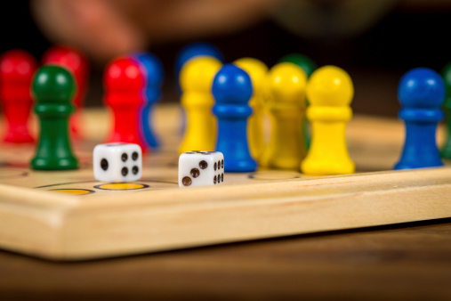 Ludo Stock Photo & More Pictures of Activity - iStock