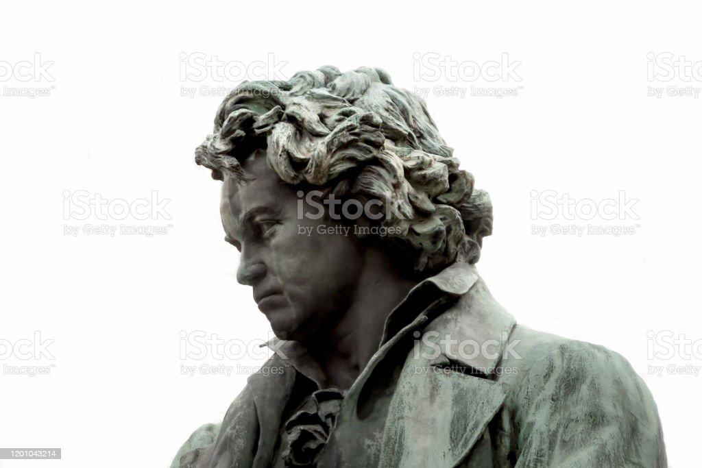 Ludwig van Beethoven - Denkmal - Lizenzfrei Ludwig van Beethoven Stock-Foto
