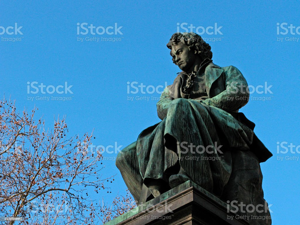 Ludwig van Beethoven stock photo