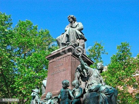 istock Ludwig van Beethoven, sculpture 820860590