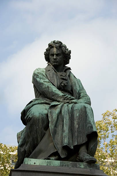 Ludwig Van Beethoven's statue (1880)